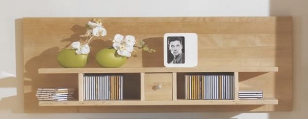 wandboard wandregal h ngeregal wandkonsole birke massiv. Black Bedroom Furniture Sets. Home Design Ideas
