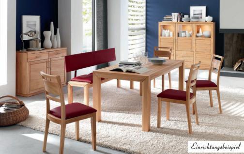 anrichte kommode sideboard kernbuche massiv naturbelassen. Black Bedroom Furniture Sets. Home Design Ideas