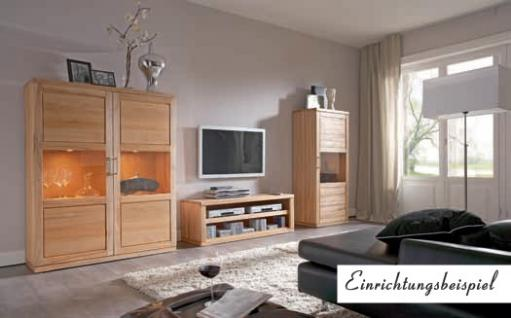 TV-Board TV-Anrichte TV-Konsole TV-Möbel Lowboard Kernbuche massiv geölt - Vorschau 2