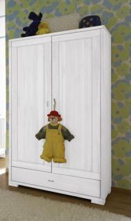 Kleiderschrank Schrank Kinderzimmerschrank Kiefer massiv