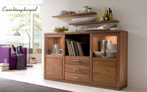 steckboard wandregal wandboard regal wandelement nussbaum massiv ge lt kaufen bei saku system. Black Bedroom Furniture Sets. Home Design Ideas