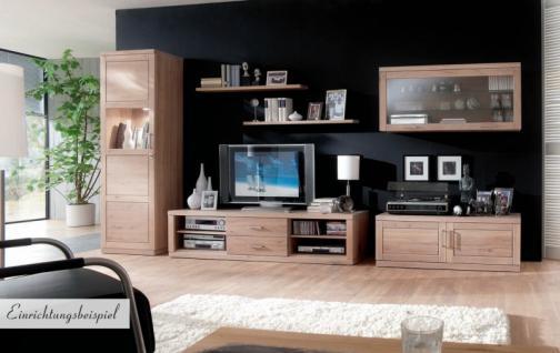TV-Board TV-Anrichte TV-Konsole Lowboard Wildeiche weiß patiniert - Vorschau 2