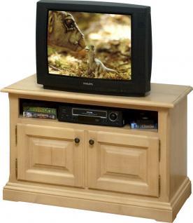 TV-Anrichte TV-Konsole TV-Board Lowboard TV-Tisch Fichte massiv gewachst - Vorschau 1