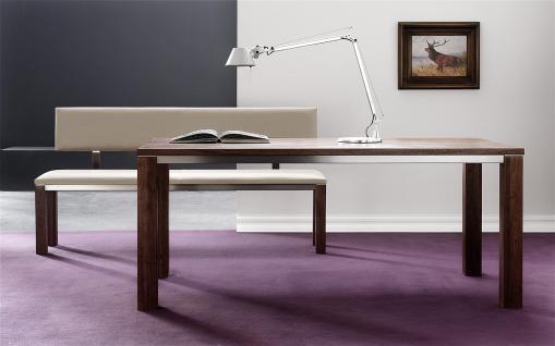 esstisch tisch nussbaum massiv bestellen bei yatego. Black Bedroom Furniture Sets. Home Design Ideas