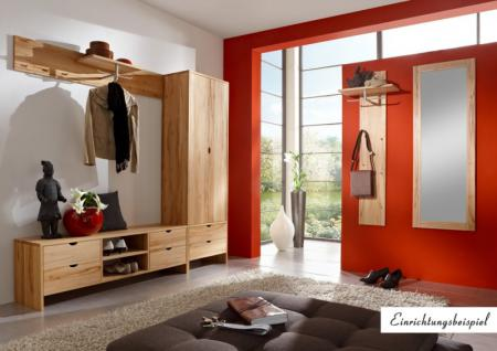 kleiderschrank schrank garderobenschrank flur kernbuche massiv ge lt kaufen bei saku system. Black Bedroom Furniture Sets. Home Design Ideas