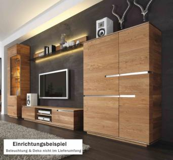 eiche wohnwand massiv ge lt g nstig online kaufen yatego. Black Bedroom Furniture Sets. Home Design Ideas