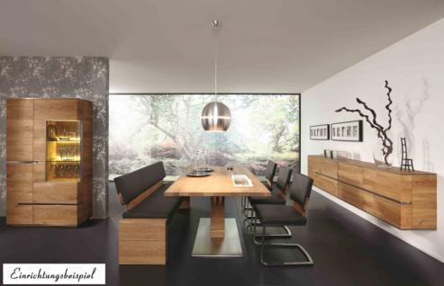 Esstisch Tisch Esszimmertisch Säulenesstisch Esszimmer Asteiche vollmassiv geölt - Vorschau 5