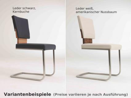 Essgruppe Tischgruppe Esszimmer Tisch Stühle Asteiche Eiche massiv geölt natur - Vorschau 3
