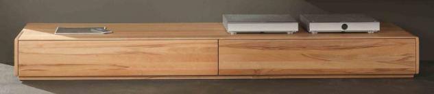 Lowboard TV-Board TV-Konsole TV-Anrichte Kernbuche massiv geölt