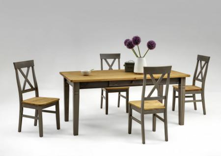 Esstisch Tisch Esszimmer Küchentisch 160 Kiefer massiv - Vorschau 4