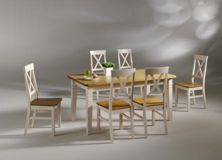Esstisch Tisch Esszimmer Küchentisch 160 Kiefer massiv - Vorschau 2