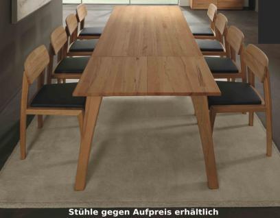 Tisch Esstisch Gestellauszug Esszimmer Kernbuche Rotkernbuche massiv geölt - Vorschau 1