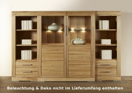 highboard sideboard vitrine esszimmer kernbuche. Black Bedroom Furniture Sets. Home Design Ideas