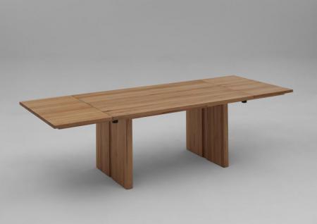 Esstisch Tisch Verlängerungsplatte Esszimmer Wangentisch Kernbuche massiv geölt - Vorschau 1