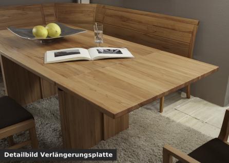 Esstisch Tisch Verlängerungsplatte Esszimmer Wangentisch Kernbuche massiv geölt - Vorschau 2