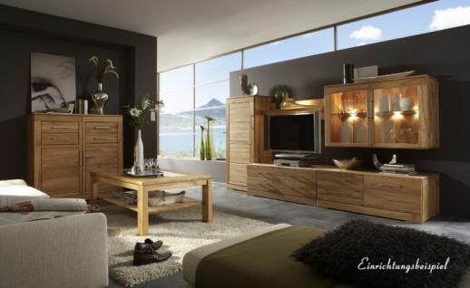 TV-Board TV-Anrichte Lowboard TV-Konsole TV-Möbel Kernbuche massiv geölt - Vorschau 2