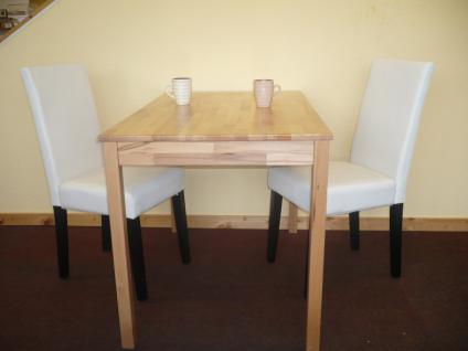 Tischgruppe esszimmergruppe sitzgruppe 3 tlg tisch 70x110 for Esstisch 70x110