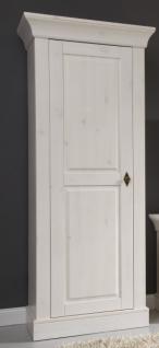 Vitrinenturm Vitrinenschrank Wohnzimmerschrank Kiefer massiv