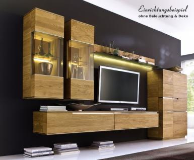 eiche natur wohnwand online bestellen bei yatego. Black Bedroom Furniture Sets. Home Design Ideas