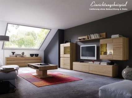 Wohnzimmer Kompletteinrichtung Wohnbereich Asteiche massiv geölt