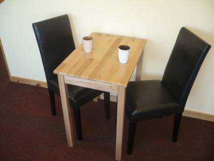 Tischgruppe esszimmergruppe sitzgruppe 3 tlg tisch 50x70 for Esstisch zwei personen