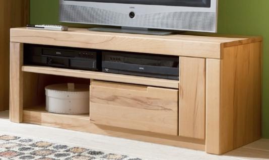 TV-Tisch TV-Board Lowboard Kernbuche massiv natur geölt made in Germany - Vorschau 1