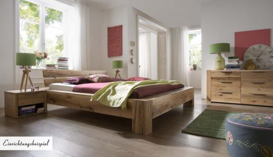 Bett Doppelbett massiv Eiche Balkeneiche geölt verschiedene Ausführungen möglich - Vorschau 2