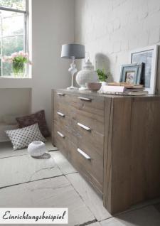 kommode sideboard balkeneiche eiche massiv r ucher l rustikal wuchsrisse kaufen bei saku. Black Bedroom Furniture Sets. Home Design Ideas