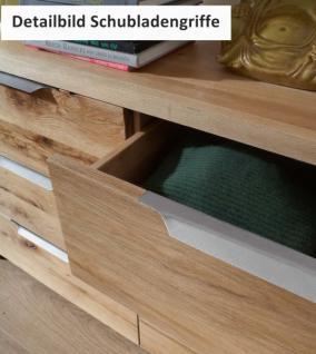 Kommode Sideboard Balkeneiche Eiche massiv Räucher Öl rustikal Wuchsrisse - Vorschau 4