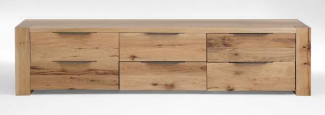 kommode sideboard eiche massiv bestellen bei yatego. Black Bedroom Furniture Sets. Home Design Ideas