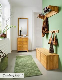 garderobe wandgarderobe hutablage kernbuche massiv ge lt flur diele kaufen bei saku system. Black Bedroom Furniture Sets. Home Design Ideas