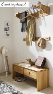 Garderobenset Garderobe Kombi Dielenset Einrichtung Flur Wildeiche massiv geölt