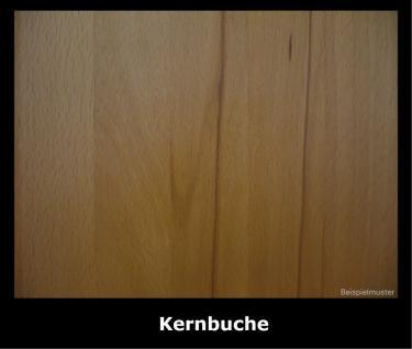 Wandregal Steckregal Steckboard Wandboard Kernbuche Wildeiche massiv geölt - Vorschau 4