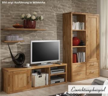 TV-Board Schrank Wohnwand Wildeiche Kernbuche massiv geölt individuell planbar - Vorschau 1