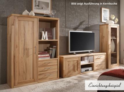 TV-Board TV-Wand Wohnwand Highboard Wohnzimmer Wildeiche Kernbuche massiv geölt