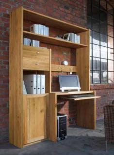 wohnwand regalwand tv wand regal kernbuche massiv ge lt. Black Bedroom Furniture Sets. Home Design Ideas