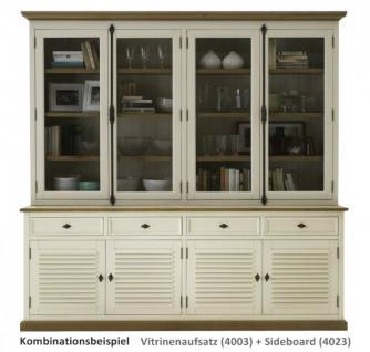 buffetaufsatz vitrine pinie wildeiche massiv ge lt. Black Bedroom Furniture Sets. Home Design Ideas