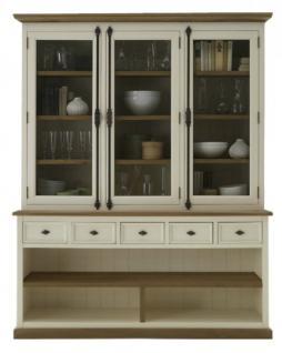 vitrine regalschrank buffet pinie wildeiche massiv ge lt. Black Bedroom Furniture Sets. Home Design Ideas