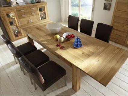 Esstisch Esszimmertisch Tisch versch. Größen Kernbuche oder Wildeiche massiv - Vorschau 4