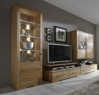 wohnzimmer wohnraum wohnbereich wohnwand kernbuche massiv. Black Bedroom Furniture Sets. Home Design Ideas