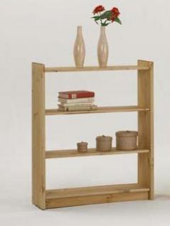 Bücherregal Regal Holzregal 80 cm breit Kiefer massiv