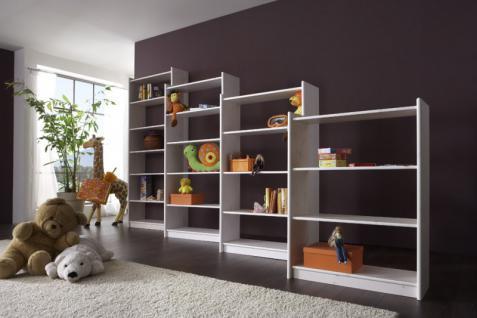Bücherregal Regal Holzregal 80 cm breit Kiefer massiv - Vorschau 3