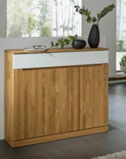 anrichte sideboard wildeiche massiv ge lt dielenm bel made in germany lack wei kaufen bei. Black Bedroom Furniture Sets. Home Design Ideas