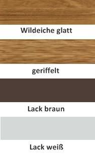 Schuhschrank Schuhkommode Klappen Wildeiche massiv geölt made in Germany - Vorschau 2