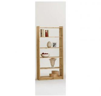Bücherregal Regal Holzregal 60 cm breit Kiefer massiv