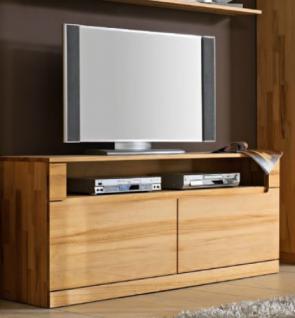 Lowboard TV-Board TV-Anrichte Konsole Kernbuche massiv geölt made in Germany