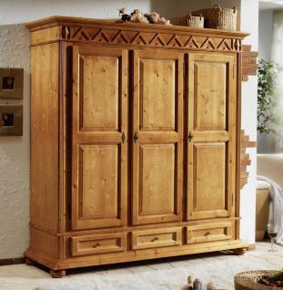 kleiderschrank rustikal online bestellen bei yatego. Black Bedroom Furniture Sets. Home Design Ideas