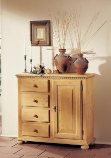 Kommode Anrichte Fichte massiv mediterran romantik antik Landhausstil vintage