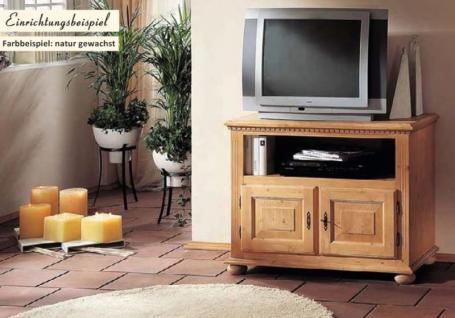 Fernsehkommode TV-Kommode Phono Fichte massiv mediterran romantik Landhausstil - Vorschau 1