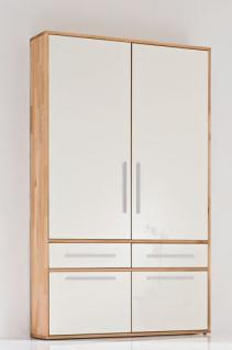 multifunktionsschrank schrank kernbuche massiv ge lt edel hochglanz magnolie kaufen bei saku. Black Bedroom Furniture Sets. Home Design Ideas